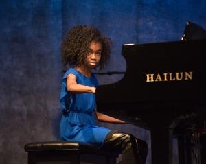 Actress Jordan Rice Piano